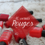 Color Block #1 : 10 vernis Rouges