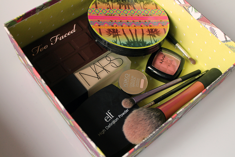 tuto maquillage chocolate bar too faced kiko