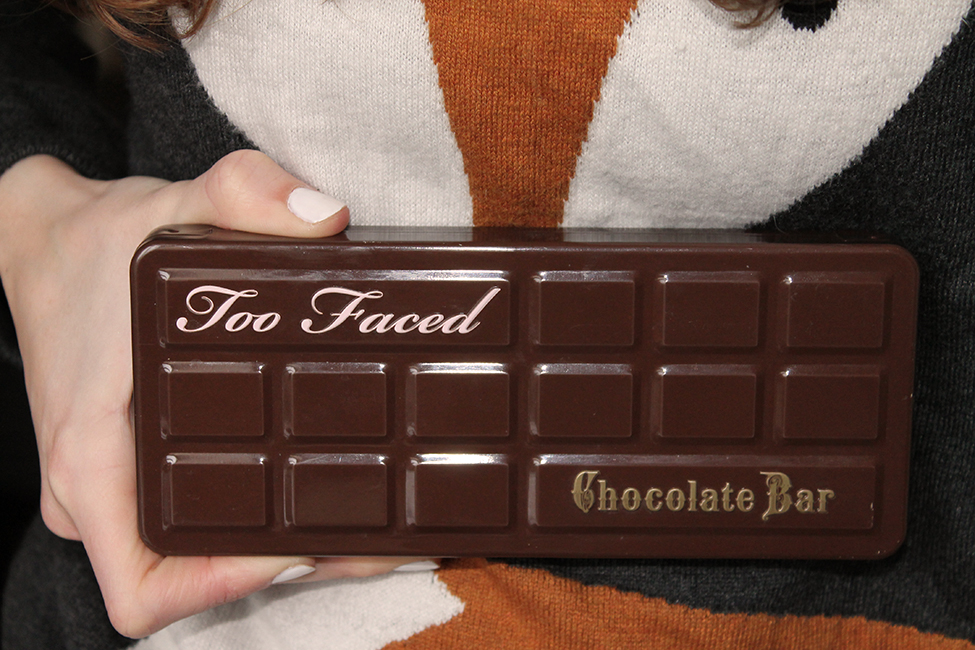 tuto maquillage chocolate bar too faced kiko palette
