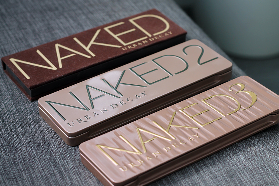 palettes Naked 1 2 3 Urban Decay