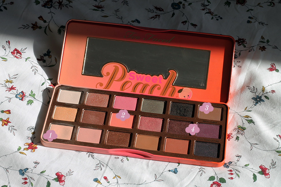 sweet peach too faced maquillage