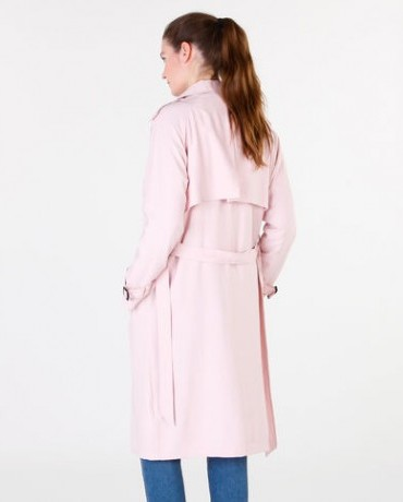 Trench fluide rose Pimkie • 49,99