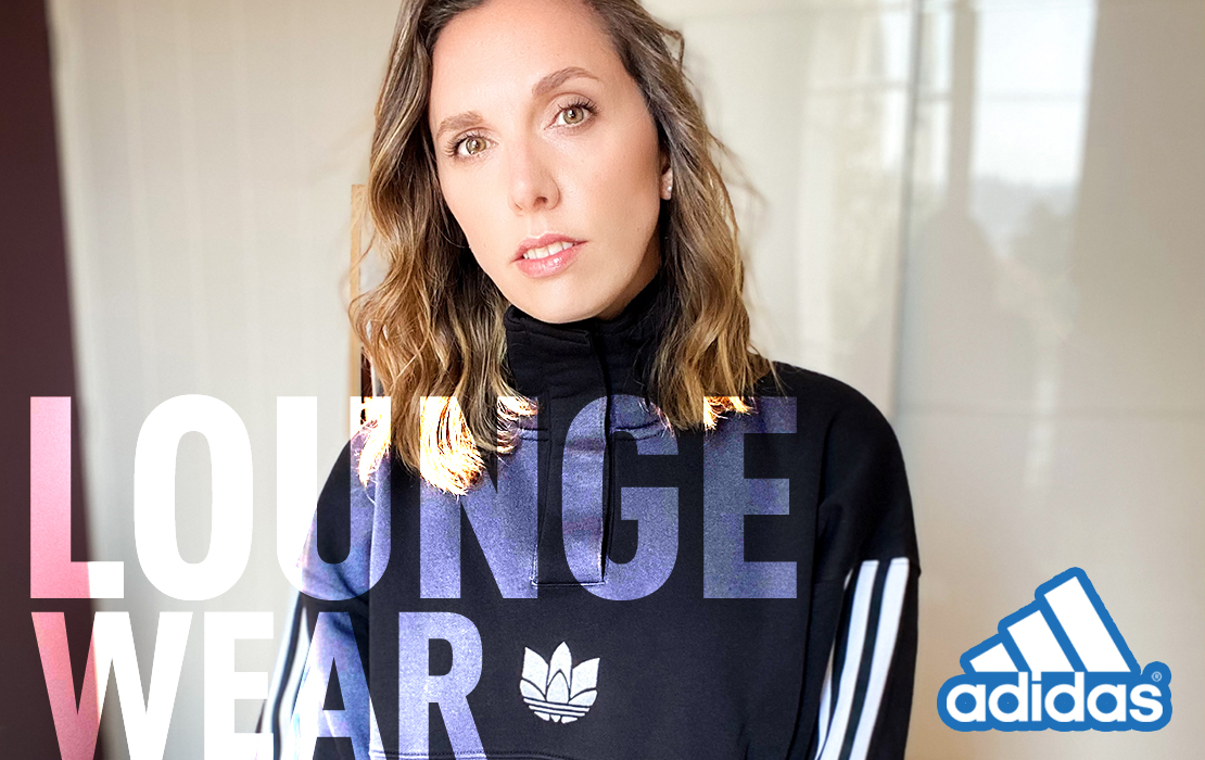 adidas collection loungewear à l'aise à la maison